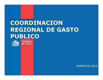 Coordinación del Gasto Público y PMG ... - Chileindica