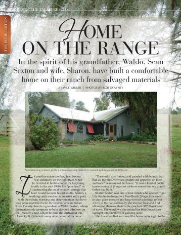 HOME ON THE RANGE - Indian River Magazine