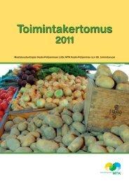 MTK Keski-Pohjanmaa toimintakertomus 2011 [pdf, 3,7 mt]