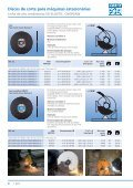 Catálogo 207 - Discos de corte estacionários - PFERD - Page 6