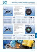 Catálogo 207 - Discos de corte estacionários - PFERD - Page 7
