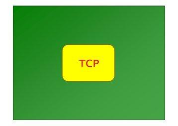 Transport Control Protocol - Informazioni - Università di Palermo