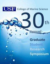 Graduate Student Research Symposium - College of Marine ...