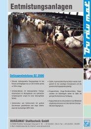als Pdf-Dokument laden (1.341 KB) - Duräumat Stalltechnik Gmbh