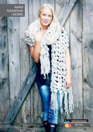 Hæklet halstørklæde i KOSMOS - Coats HP