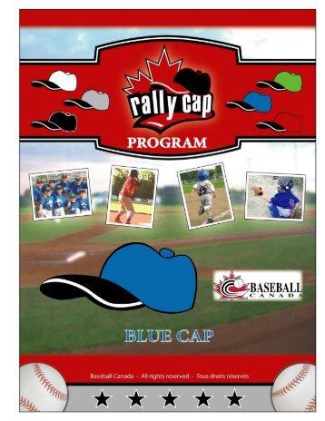Instructor Manual - Blue Cap - Baseball Canada