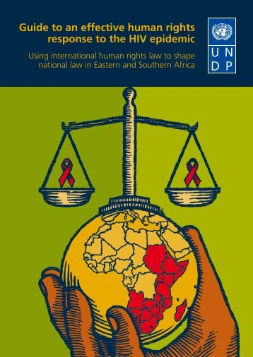 Guide to an effective human rights response to the HIV epidemic