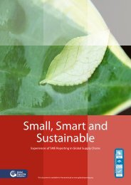 Small, Smart and Sustainable - CSR WeltWeit