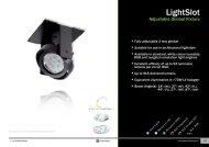 LightSlot Adjuable Gimbal Fixture - PhotonStar LED