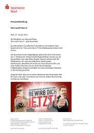 Pressemitteilung_2012_01_27_Giro sucht Hero 2 - Sparkasse Werl