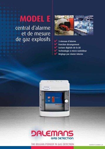 MODEL E - Dalemans Gas Detection