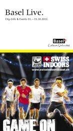 Swiss Indoors Basel 20.–28. Oktober 2012 - Basel Live