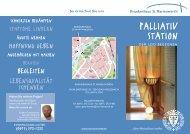 PALLIATIV STATION - Krankenhaus St. Marienwörth