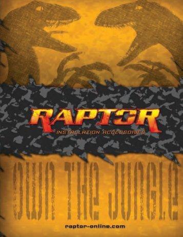 Raptor Neon Blue Series Double-shielded Audio ... - AM Distributors