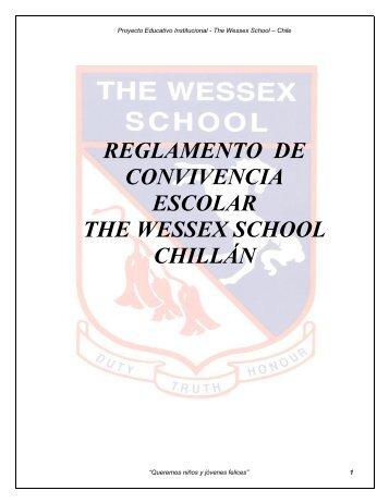 reglamento de convivencia escolar para el estudiante wessex