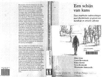 Een schijn van kans - History of Social Work