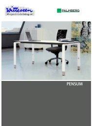 Palmberg Pensum brochure - Witteveen Projectinrichting
