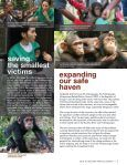 AnnuAl RepoRt 2010 - the Jane Goodall Institute of Canada - Page 7