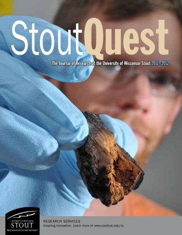 The Journal of Research at the University of Wisconsin-Stout 2011 ...