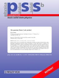 Download as a PDF - Theory of Condensed Matter - University of ...