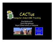 CACTus - SIDC