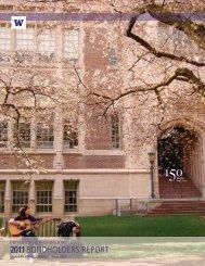 2011 - Finance & Facilities - University of Washington
