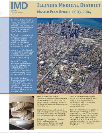 Illinois Medical District Master Plan - University of Illinois at Chicago