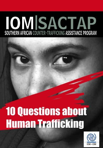 10 Questions about Human Trafficking