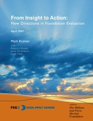 From Insight to Action: - FSG