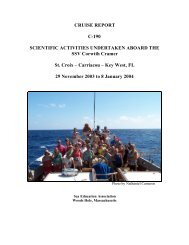 Download Cruise Report - Sea Education Association