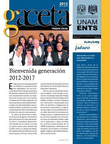 Gaceta 145 - Escuela Nacional de Trabajo Social - UNAM