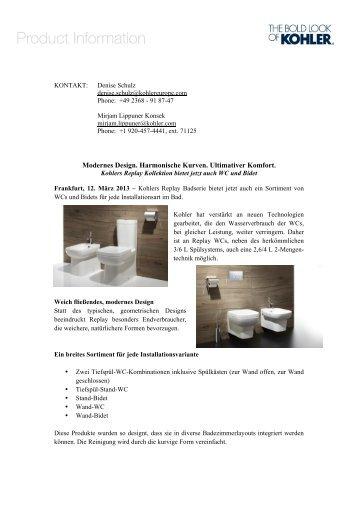 Replay WC   Kohler