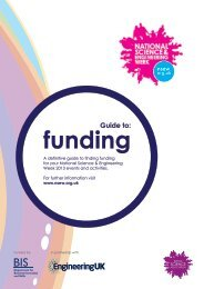 Guide to Funding - British Science Association
