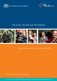 The Good, The Bad and The Brilliant - Alzheimer's Australia