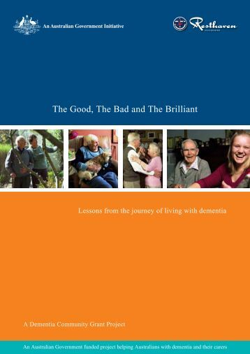 The Good, The Bad and The Brilliant - Alzheimer's Australia