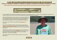 Suedafrika-Reise im November 2003 - Patrick Kaufhold