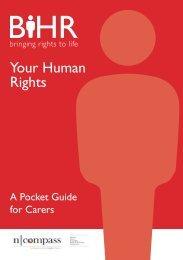 BIHR Pocket Guide for Carers