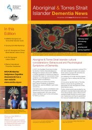 NATSIDAG Newsletter 2008, Issue 5 - Alzheimer's Australia