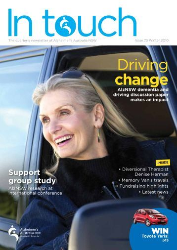 Issue 73 Winter 2010 (PDF) - Alzheimer's Australia