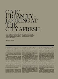 CiviC Urbanity – Looking at the City afresh