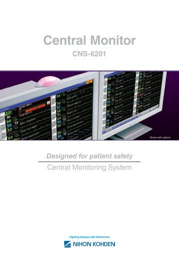 CNS-6201 central monitor - Fenno Medical Oy