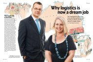 Why logistics is now a dream job - DB Schenker
