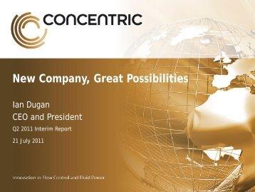 Q2 2011 Presentation - Concentric