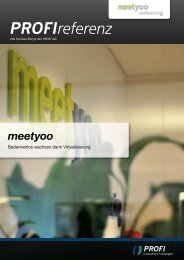 meetyoo - PROFI Engineering Systems AG