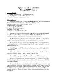 Zpráva předsedy Českého sdružení (pdf)