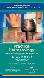 Practical Dermatology: - University of Minnesota Continuing Medical ...