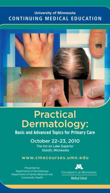 Practical Dermatology: - University of Minnesota Continuing Medical ...