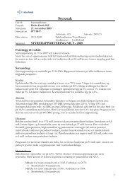 Styresak 077-09 V Styrerapportering nr 9 - 2009.pdf - Helse Førde