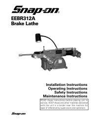 EEBR312A Brake Lathe - aesco