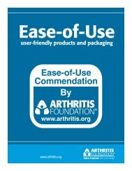 Tips on Selecting Ease-of-Use Products - Arthritis Foundation